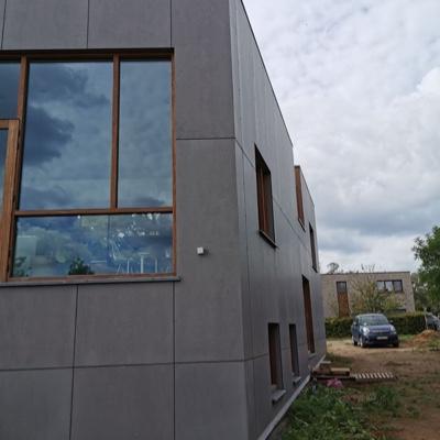 gevelbekleding project in Diest